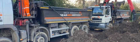 MICK WRIGHTS GRAB HIRE / LORRY HIRE
